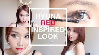 【BrenLui大佬B】HYUNA泫雅 - '빨개요 (RED)' Inspired Makeup Look Thumbnail