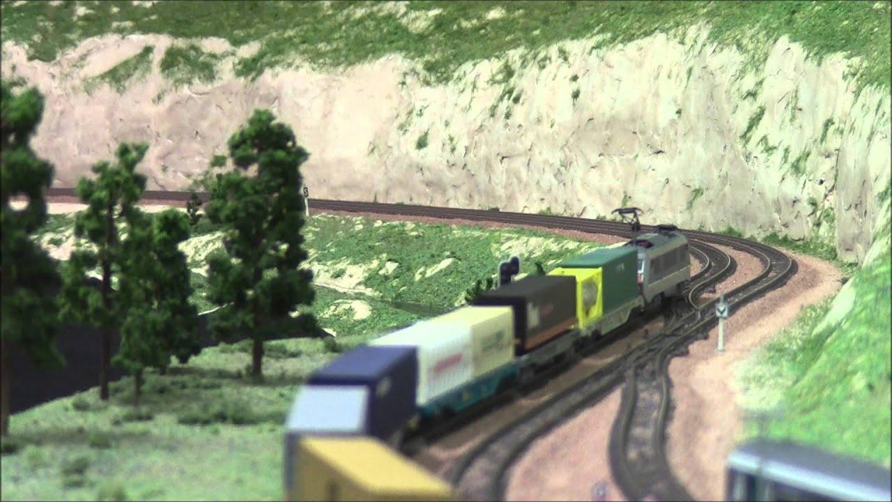 train miniature gare de salemay echelle n mat riel piko minitrix rocky rail hobby train. Black Bedroom Furniture Sets. Home Design Ideas
