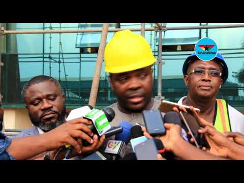 Renovation works begin at Accra Sports Stadium