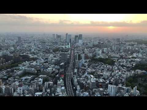 Tokyo Sunset Timelapse-Mori Tower
