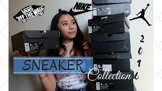 SNEAKER COLLECTION! 2016 (Vans, Nike Airmax & Jordan!)   Ann V