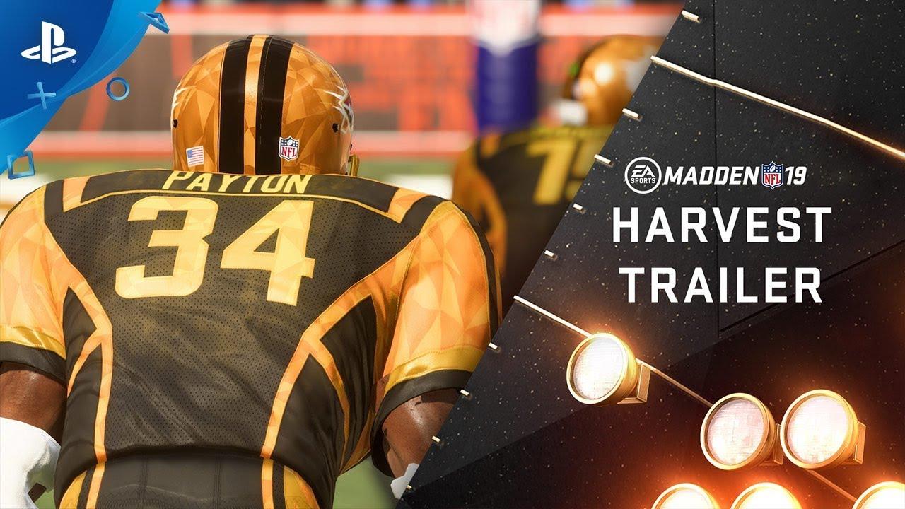 Madden 19 Harvest Turkey Bowl Ps4