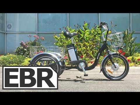 Revolve Electric Vehicles Steady Eddie Tricycle Video Review