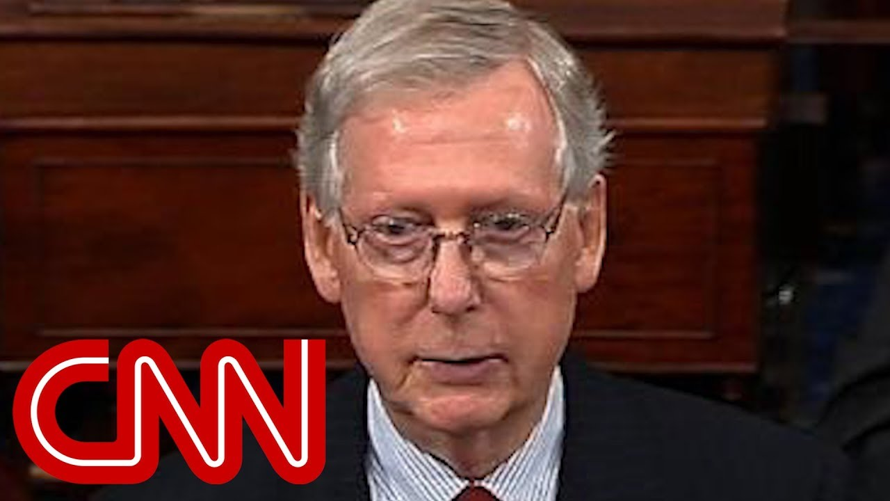 Mitch McConnell guarantees a vote on Kavanaugh
