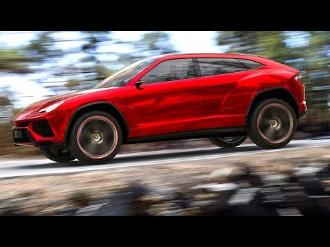 Lamborghini URUS SUV 2018 Teaser Video Lamborghini SUV 2018 LM002 + Miura CARJAM TV