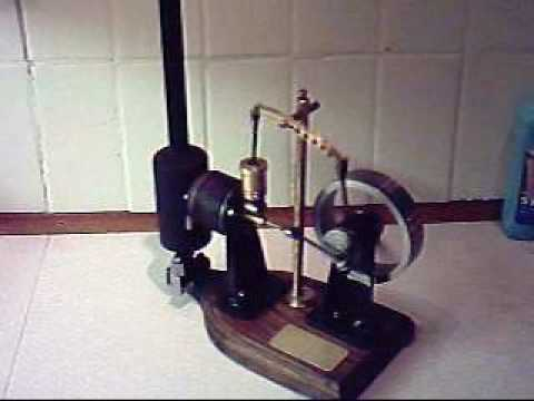 Stirling engine no 1 free plans youtube for Stirling engine plans design blueprints