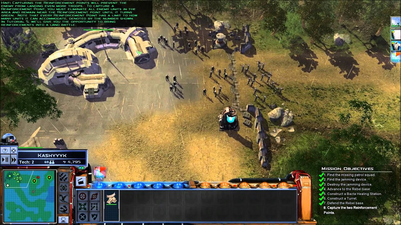 Star Wars: Empire at War - Episode One, The Tutorial mp4