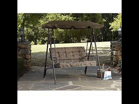 Kmart Patio Swing Cushions Seat Support And Canopy Fabric
