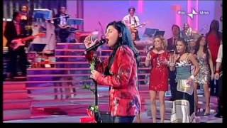 Giusy Ferreri - Ciao amore ciao (live@ Domenica In 20-12-2009)