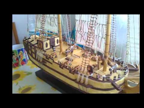 MODEL SHIP HALIFAX 1768
