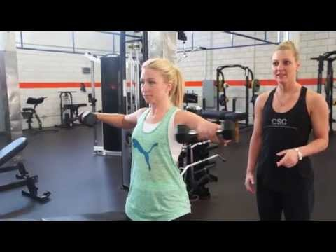 CSC TrainerTip with Kelly Adams  Train Your Shoulders