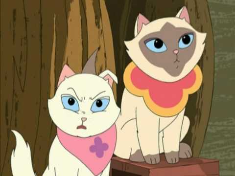 Sagwa, the Chinese Siamese Cat - Cat and Mouse