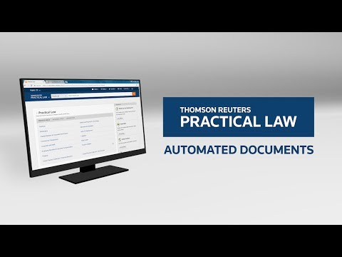 Practical Law Automated Documents Demo