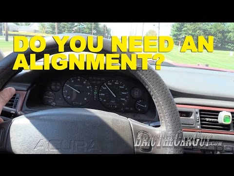 Do You Need an Alignment? -EricTheCarGuy