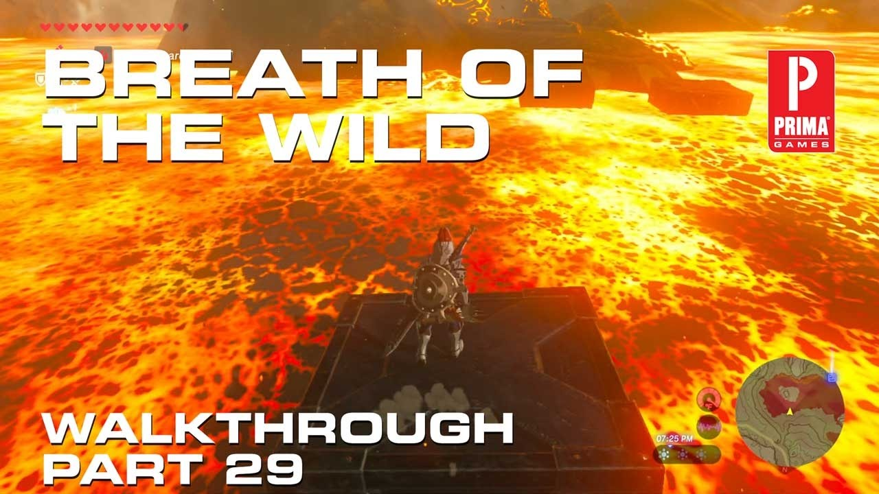 Zelda: Breath of the Wild - Goron City, Heat Resistant and Death