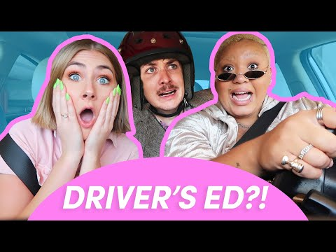 We Tried Passing A High School Driver's Test
