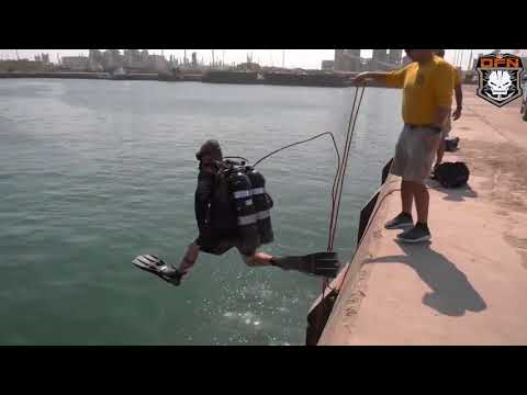 DFN:75th Engineer Dive Company ensures safety of Army maritime operations KUWAIT 08.22.2018