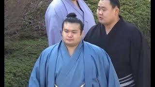 千代の国関 場所入り 平成30年初場所8日目 千代の国 検索動画 16