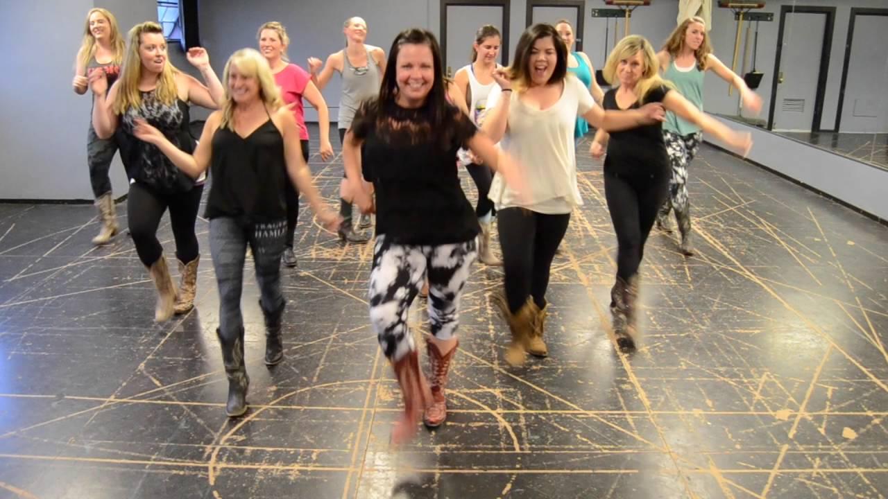 Fireball Line Dance Teach & Demo (DeAnna Lee Dance)