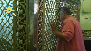 بالفيديو..مواطنون فى لحظة ترجى ودعاء بضريح السيدة عائشة أثناء الصيام