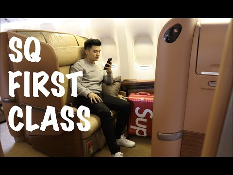 OH BEGINI FIRST CLASS SINGAPORE AIRLINES SQ (CGK-SIN) & THE PRIVATE ROOM