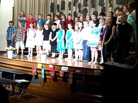 Opal Myrick Elementary School 2011 4th Grade Celebration part 2