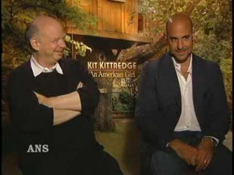 STANLEY TUCCI AND WALLACE SHAWN ANS ENTERTAINMENT INTERVIEW