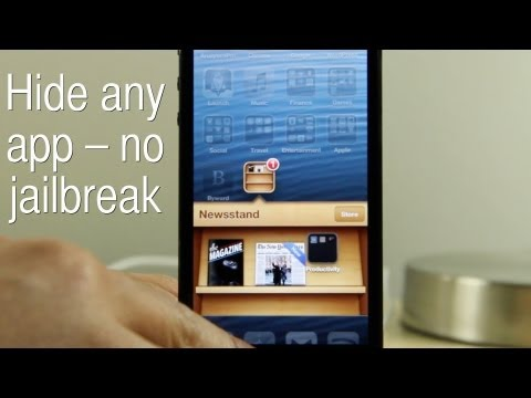 How to hide apps on the iPhone - no jailbreak required