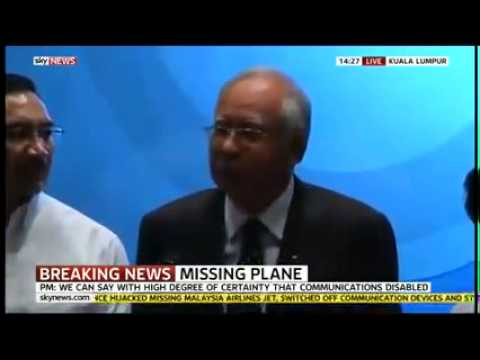 BREAKING  Malaysian PM News Conference over MH370 Hijacked   YouTube