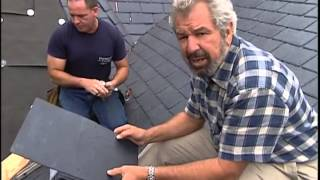 TPO Rubber Slate Roof Installed on Victorian-Style Roof
