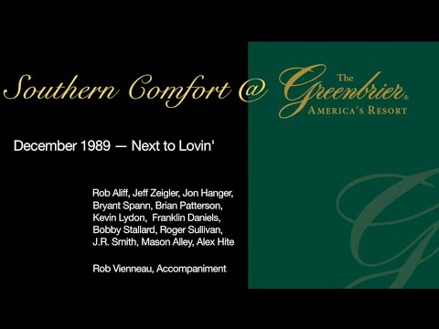 Southern Comfort @ The Greenbrier 1989