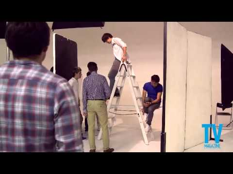 Behind The Scenes Of One Direction's TV Magazine Photoshoot