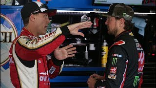 Harvick weighs in on Kurt Busch's future with SHR