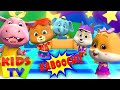Kaboochi - Dance Song for Kids | Loco Nuts Cartoons | Music for Babies | Kids Tv
