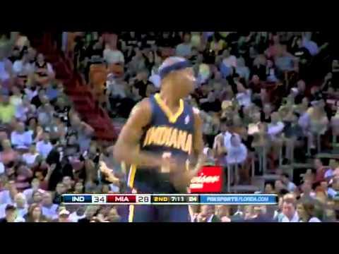 NBA Indiana Pacers Vs Miami Heat Game Recap 11 22 2010