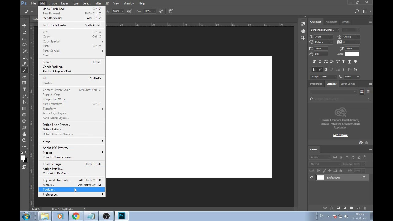Mixer Brush tool missing in Photoshop CC 2018 How To get it back