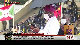 Uganda's Museveni takes oath of office - live