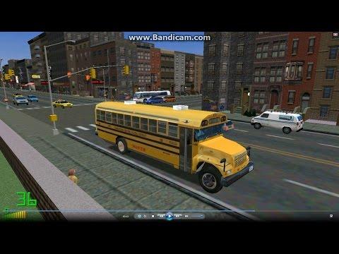 mm2 遊車河 (1004) BlueBird Internation School bus 校車 @ New York City