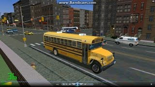mm2 遊車河 1004 bluebird internation school bus 校車 new york city