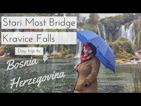 Visit Bosnia and Herzegovina - Kravika falls & Stari Most bridge