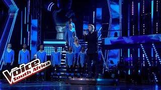 Francois Van Coke & Drakensberg Boys Choir – 'Komma' | Live Shows | The Voice SA | M-Net
