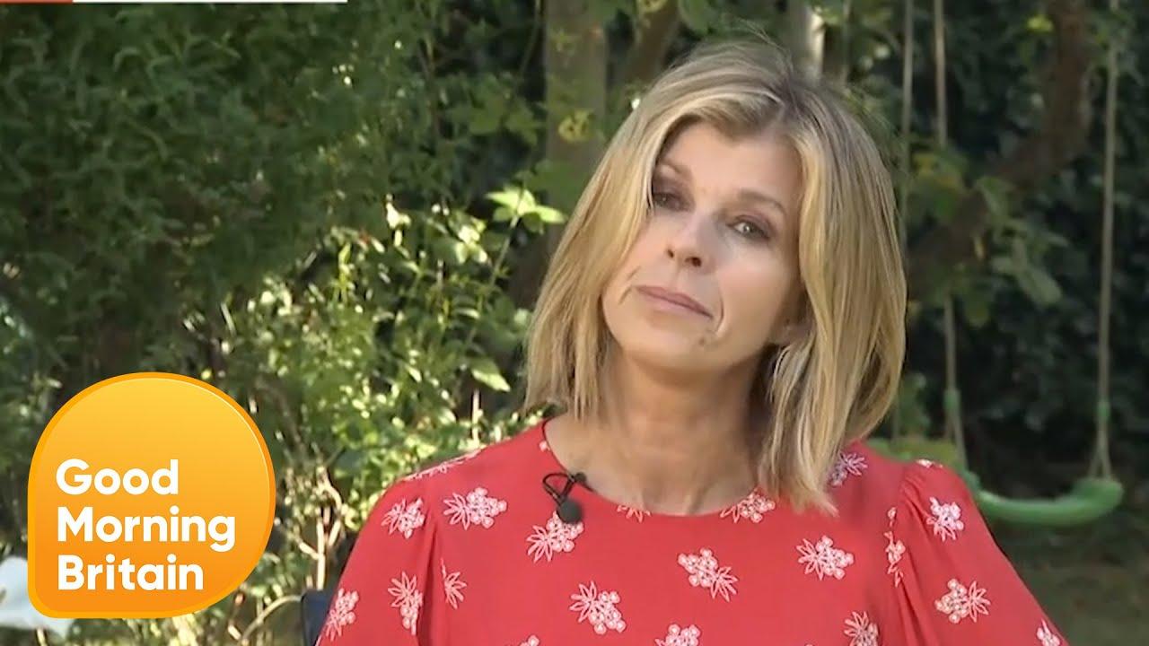 Kate Garraway Gives An Emotional Update On Husband Derek Draper Good Morning Britain Youtube