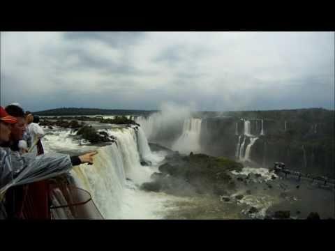 Iguazu Falls National Park Tour - Argentina & Brazil (GoPro Hero HD 720p)