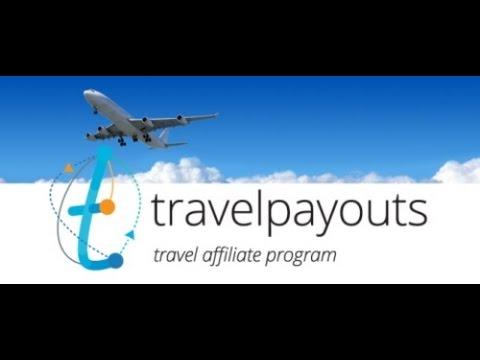 Обзор. TravelPayouts -хорошая партнерская программа (Aviasales and Hotellook)! Заработок на туризме!