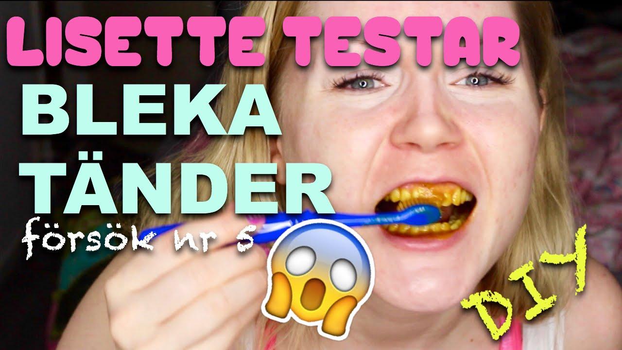 bleka tänder med gurkmeja