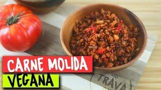 Cómo preparar Carne Molida Vegana | Los Travapie