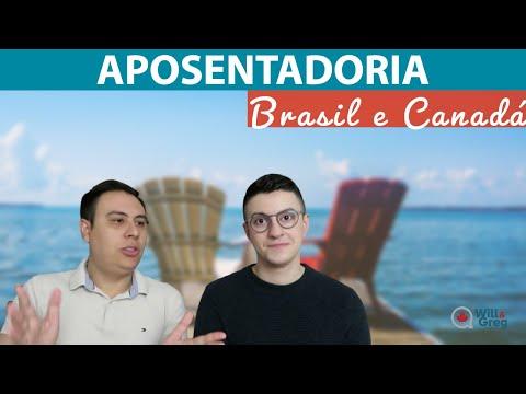 Dá pra se aposentar pelo Brasil e pelo Canadá morando no Canadá?