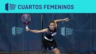 Resumen Cuartos de Final Femeninos (segundo turno) Vigo Open | World Padel Tour