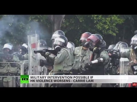 Hong Kong violence may tank economy & China nixes NBA games