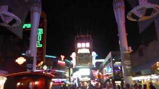 Ziplining on Freemon Street - Las Vegas Summit 2014